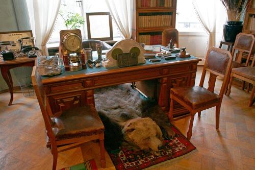 Sergei Kirov's desk.